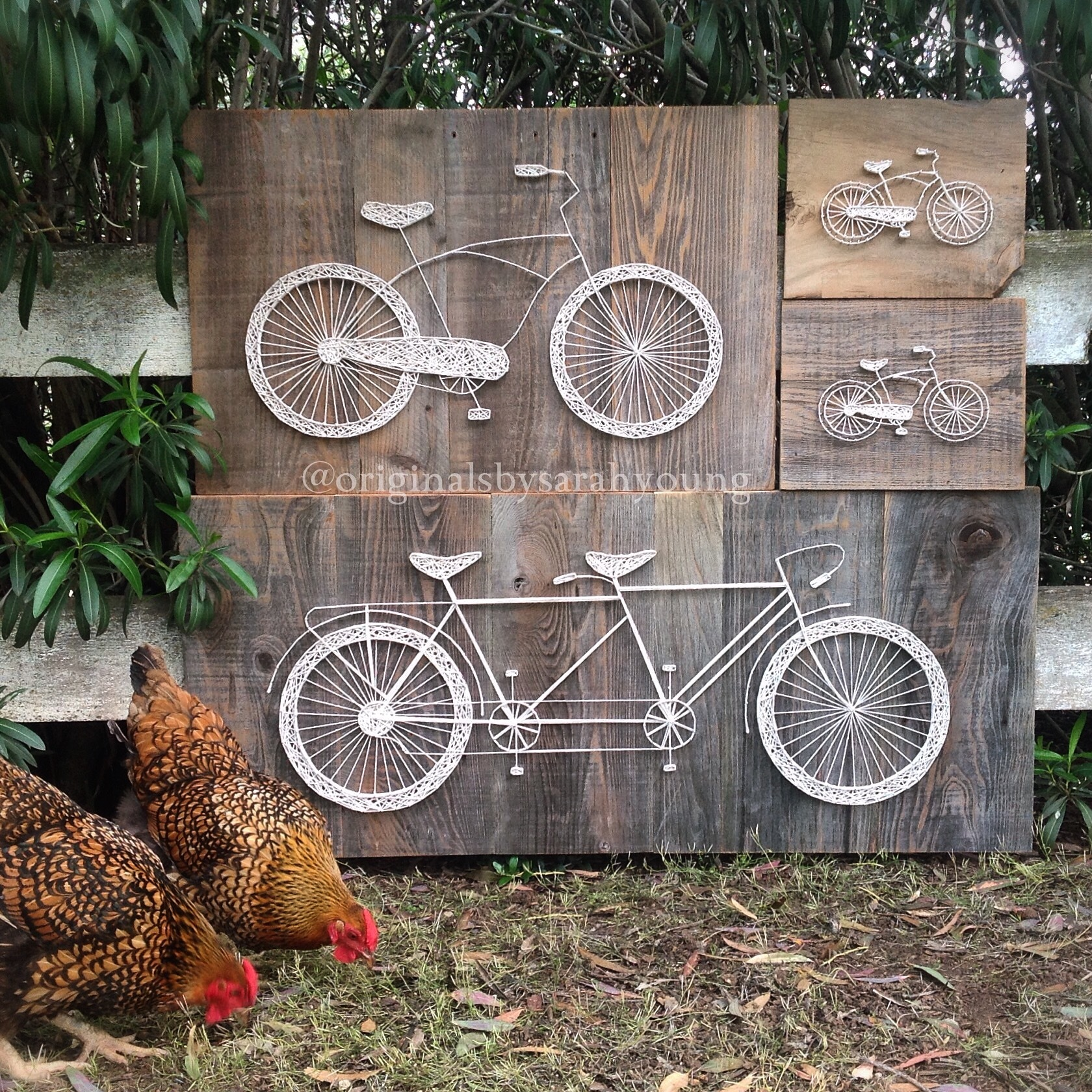 Bicycle String Art