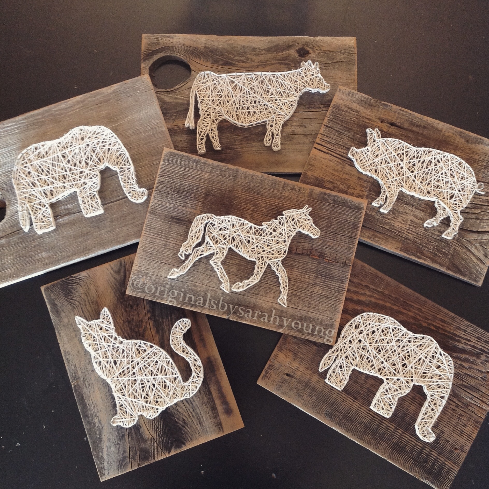 Animal String Art