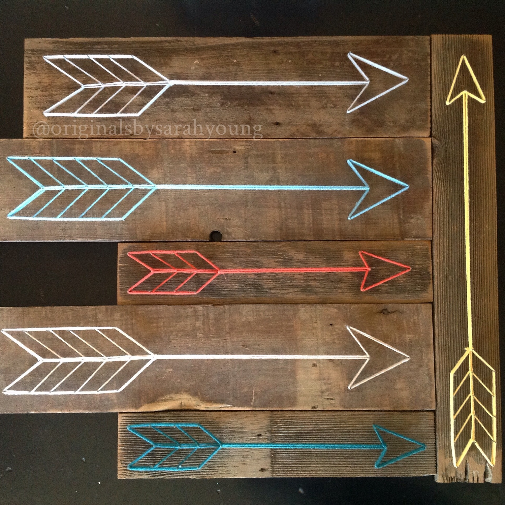 String Art Arrows