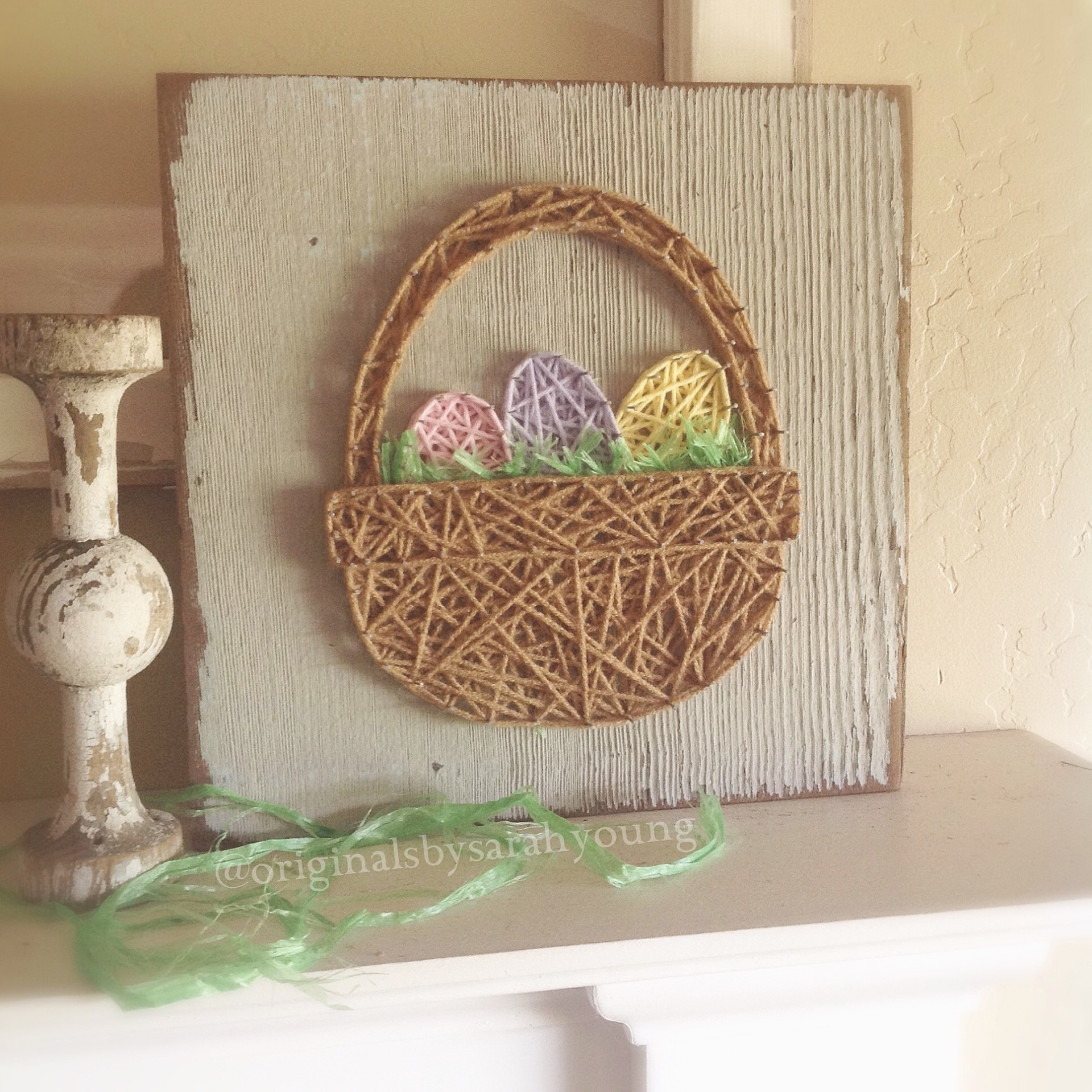 String Easter Basket